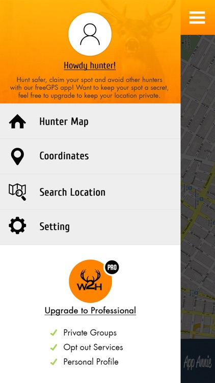 Where2Hunt - GPS Hunting App