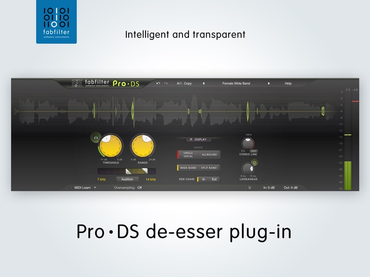 FabFilter Pro-DS screenshot-0