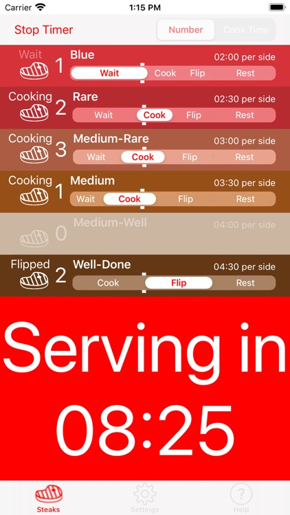 Steak Timer Pro screenshot-5