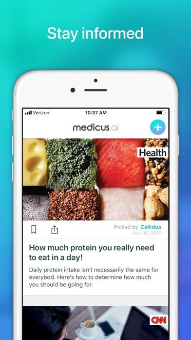 Medicus AIلقطة شاشة7
