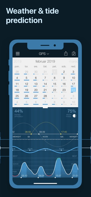 Lunar Fishing Calendar.Fishing Calendar Pro