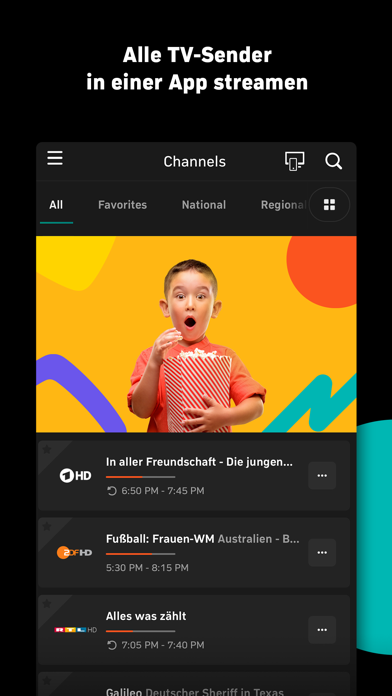 Zattoo - TV Streaming für Android: Download Kostenlos [2019 APK]