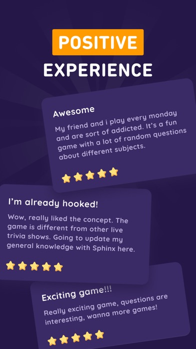 Sphinx Trivia - Win Real Cash screenshot 5