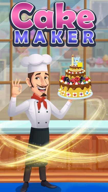 Bake Cake Maker Kitchen Game