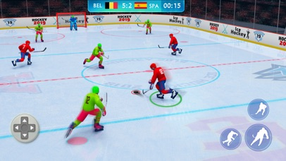 Ice Hockey Games: Nation Champ screenshot 2