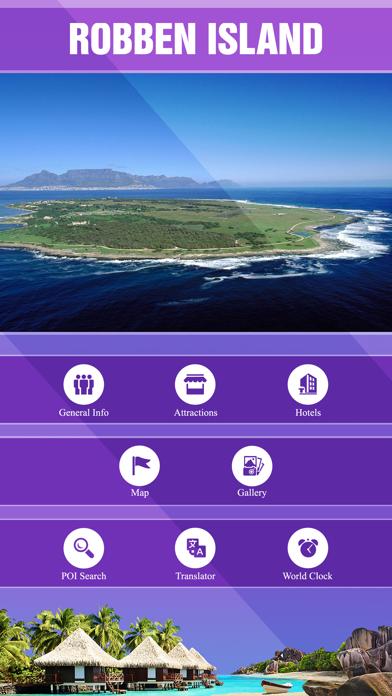 Robben Island Travel Guide Screenshots
