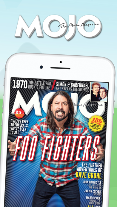 Mojo: The Music Magazine Screenshot