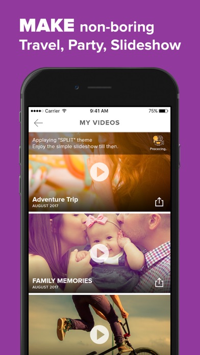 Video Maker With Music review screenshots