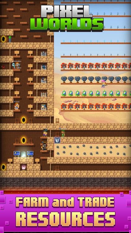 Pixel Worlds: MMO Sandbox screenshot-5