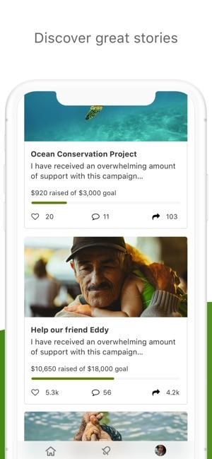 GoFundMe - Online Fundraising on the App Store
