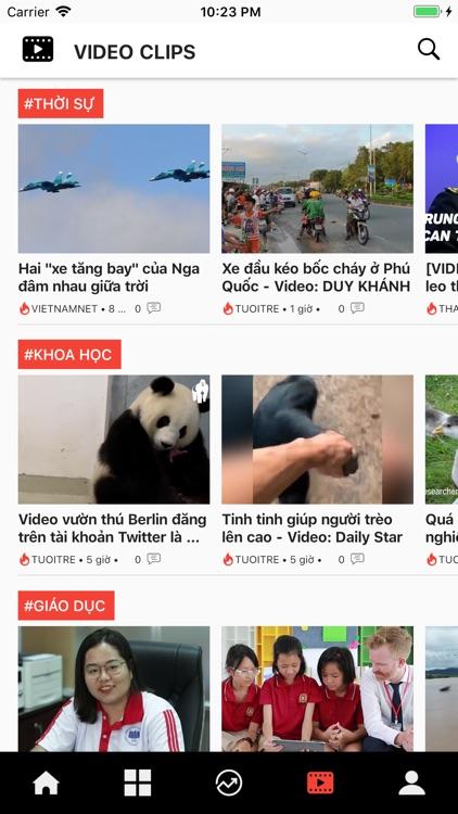 Tin nhanh 24h: Đọc báo tin tức