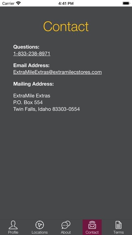 ExtraMile Extras screenshot-3