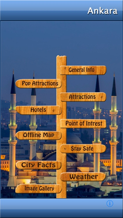 Ankara Offline Map Guide