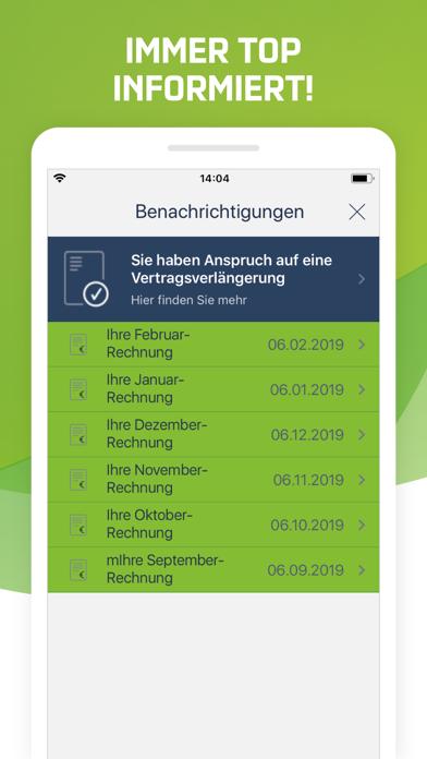 Screenshot for Mein mobilcom-debitel in Germany App Store