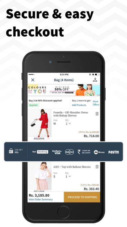 AJIO Online Shopping App screenshot-5