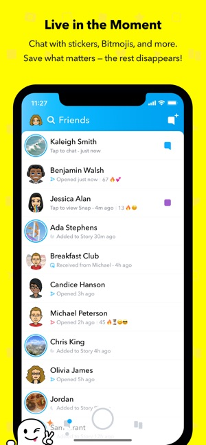 snapchat story status video download