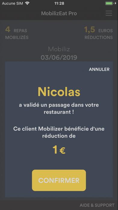 MobilizEat Pro Screenshot
