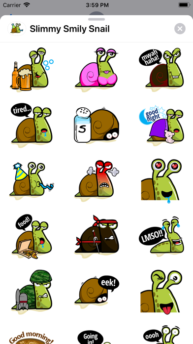 Slimmy Smily Snail screenshot 1