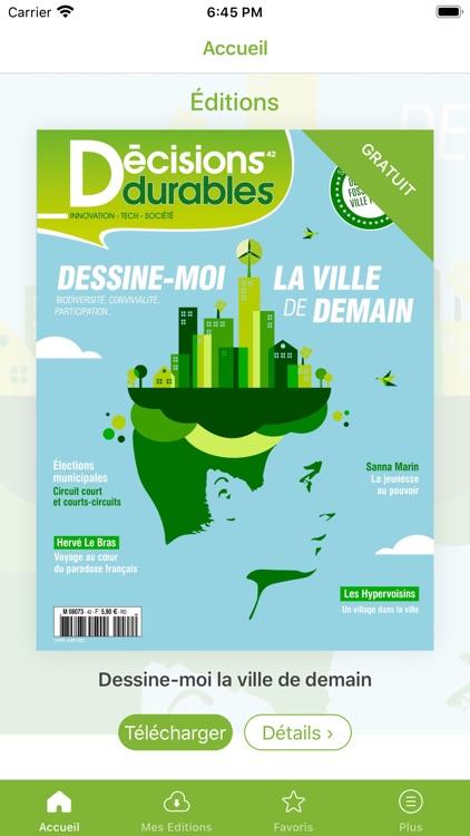 Décisions durables le magazine