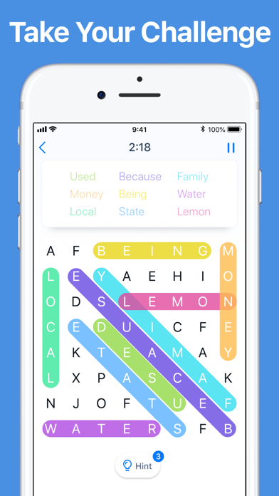 Word Search - Crossword Game screenshot 2