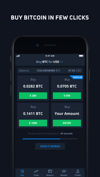 CEX.IO Криптовалютная биржаСкриншоты 1