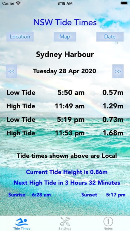 NSW Tide Times screenshot-0