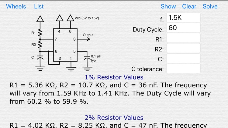 Electronics Tools screenshot-8