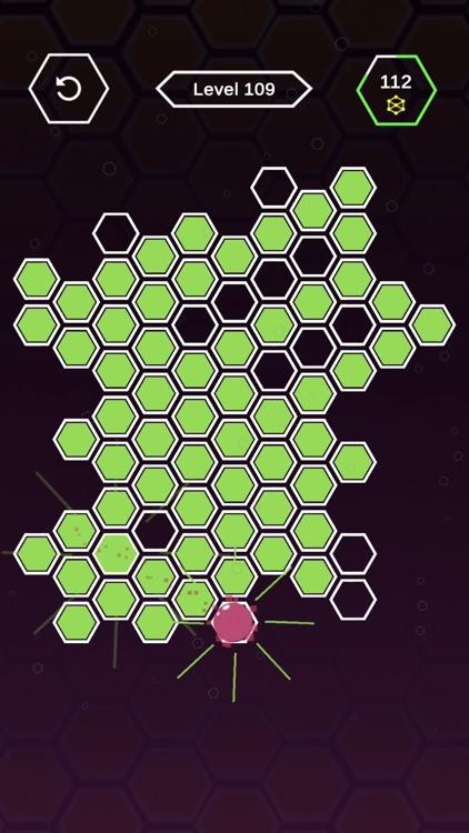 Roller Splat Hexagon screenshot-4