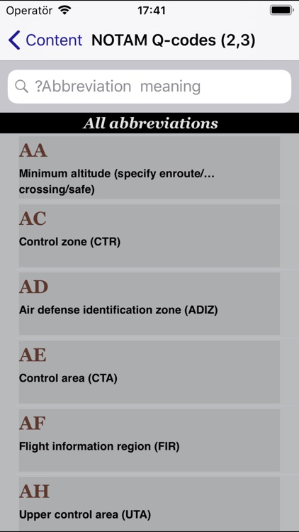 AviationCode screenshot-5