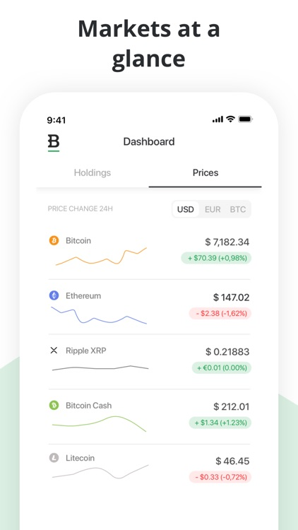 Bitstamp – crypto exchange app screenshot-3