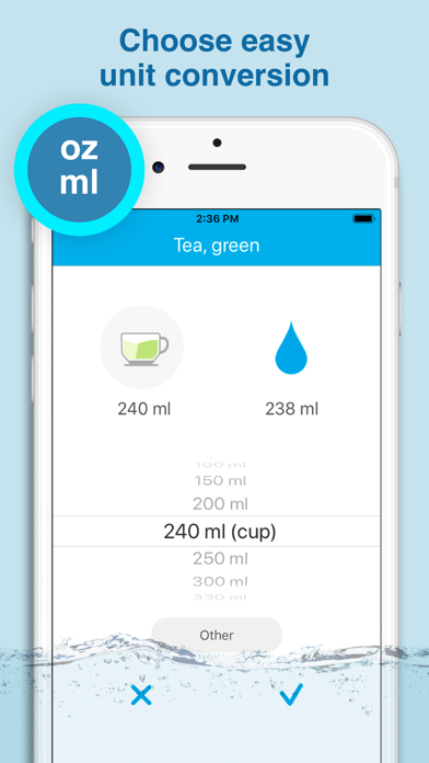Water smart - water balance Screenshot