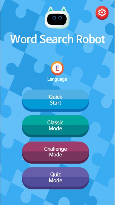 Word Search Robot Screenshot