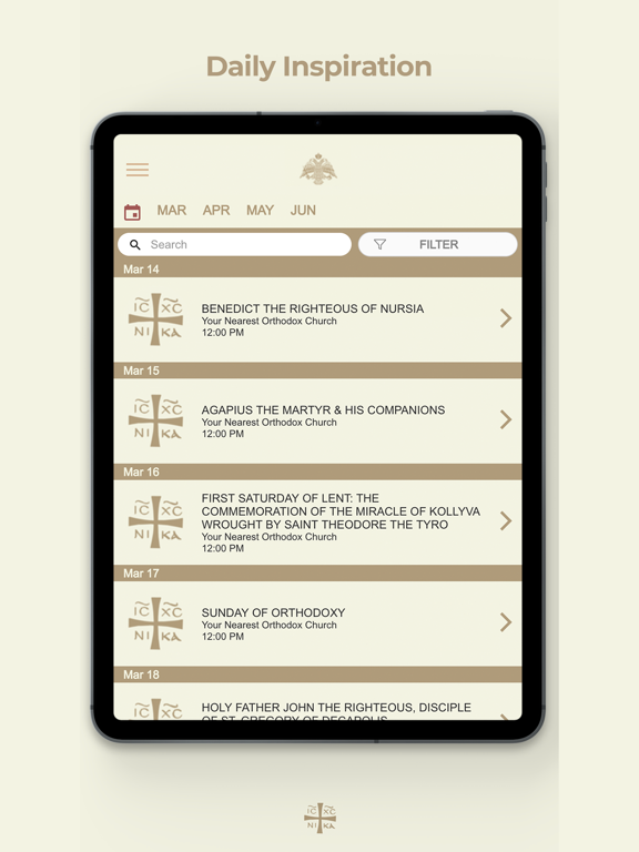 Greek Orthodox Calendar.Greek Orthodox Calendar Hd App Price Drops