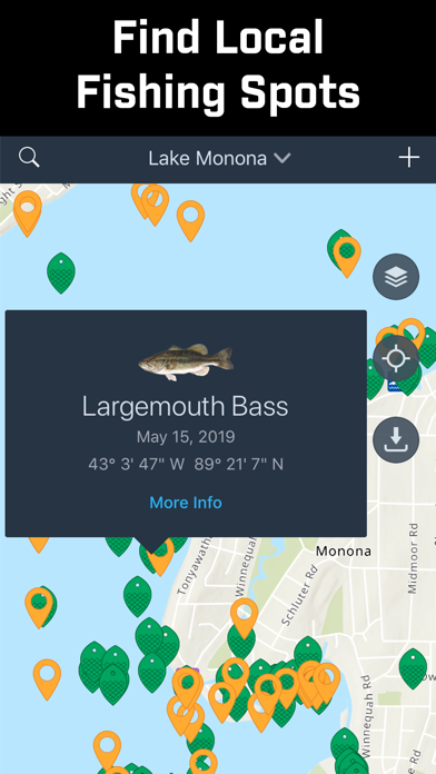 Fishidy: Fishing Maps App Screenshot