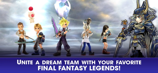 DISSIDIA FINAL FANTASY OO on the App Store
