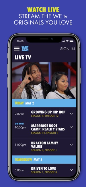 WE tv on the App Store