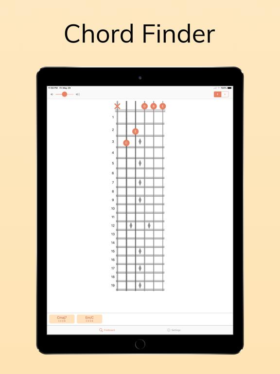 ChordAid: Chord Finder screenshot