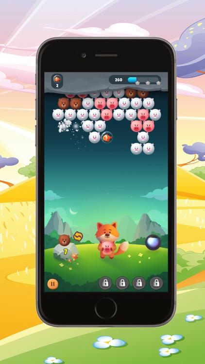 bubble shooter : pop bubbles screenshot-3