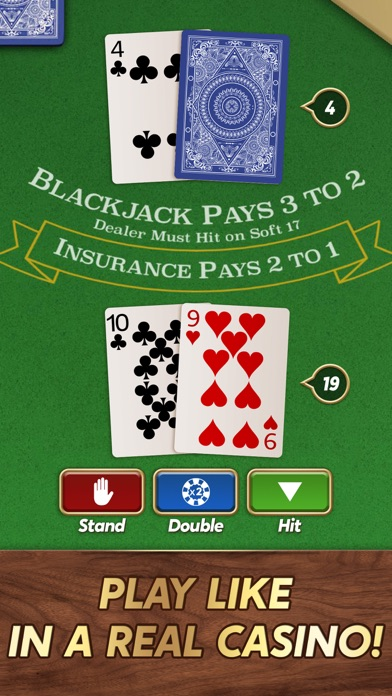 Blackjack 21 ⁂ screenshot 4