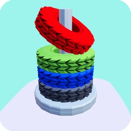 Stack Sort - Color Hoop