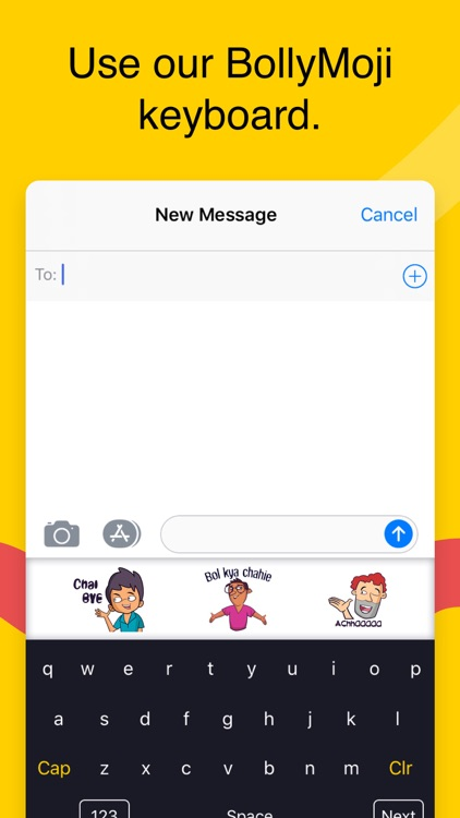 BollyMoji - keyboard & emojis screenshot-3