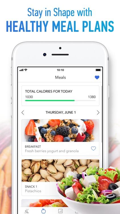 Walk Workouts & Meal Planner screenshot-3