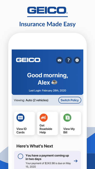 messages.download GEICO Mobile - Car Insurance software