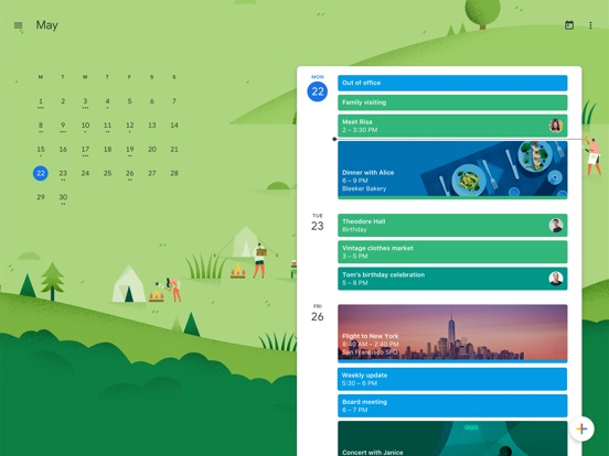 Screenshot #1 for Google Calendar: Time Planner