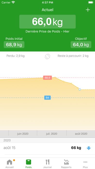 Screenshot #3 pour Compteur de Calories FatSecret