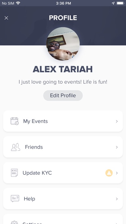 The Moves: Social Event App
