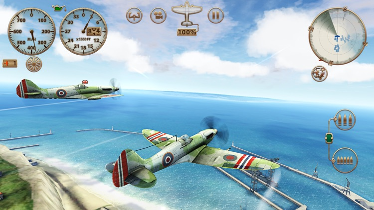 Sky Gamblers: Storm Raiders screenshot-0