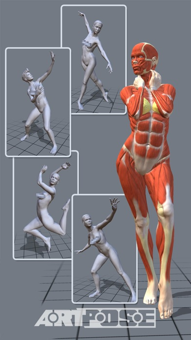 ArtPose Female Edition screenshot1