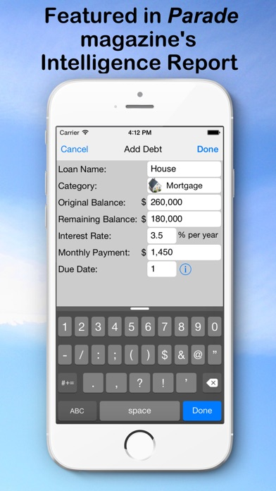 Debt Snowball Pro - Pay Debt Screenshots