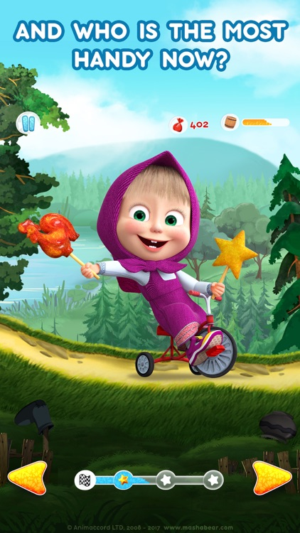 Masha and the Bear: Car Games screenshot-8